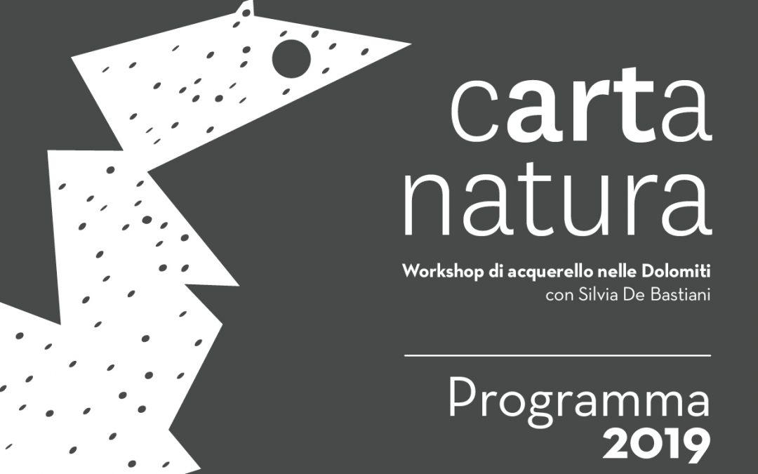 È completo il programma 2019 di Carta Natura